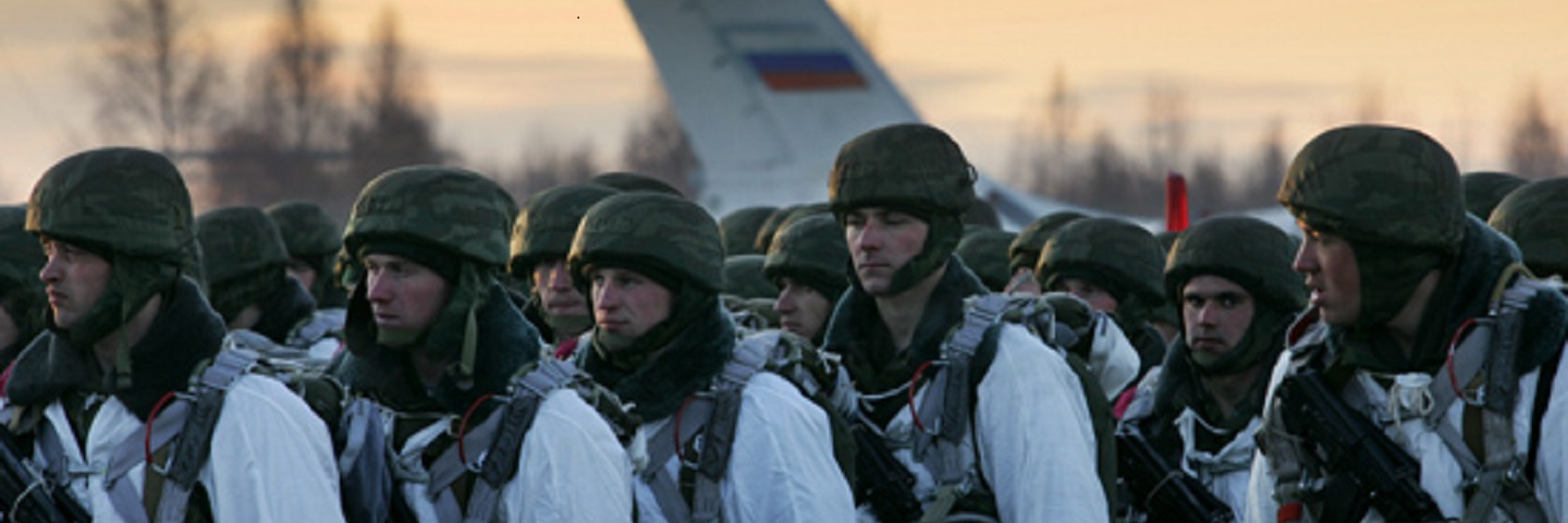 First time in Russian history Airborne units in cooperation with Collective Security Treaty Organization member-states' rapid deployment force plan to perform large-scale landing onto a drift ice in water zone of the Arctic Ocean