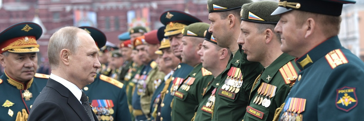 After the Victory Parade marking the 74th anniversary of Victory in the Great Patriotic War.
