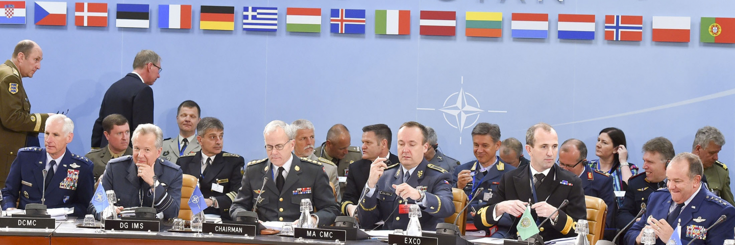 Opening remarks by General Knud Bartels *Chairmen of the NATO Military committee)
