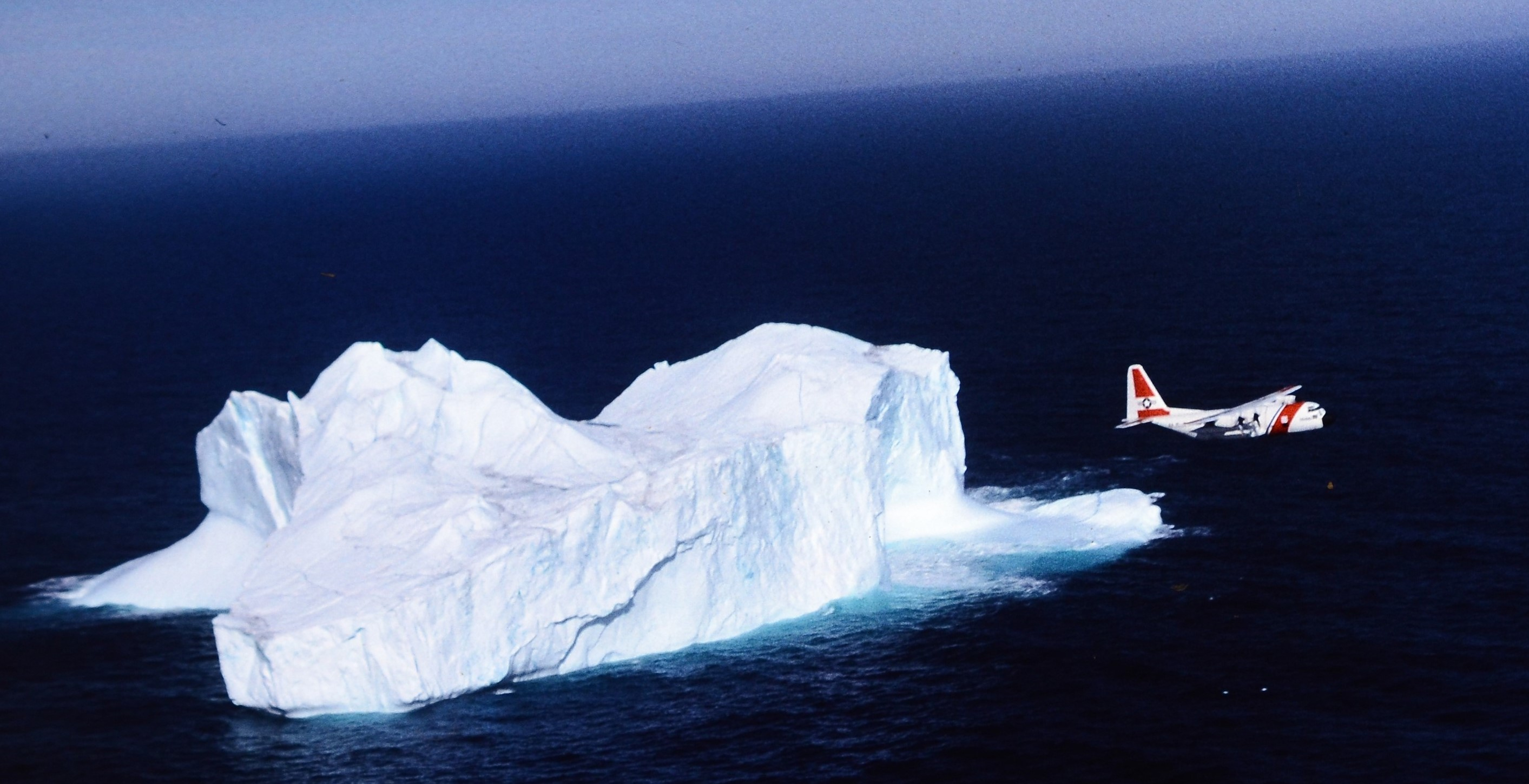 Photo of Coast Guard Iceberg Patrol Plane
