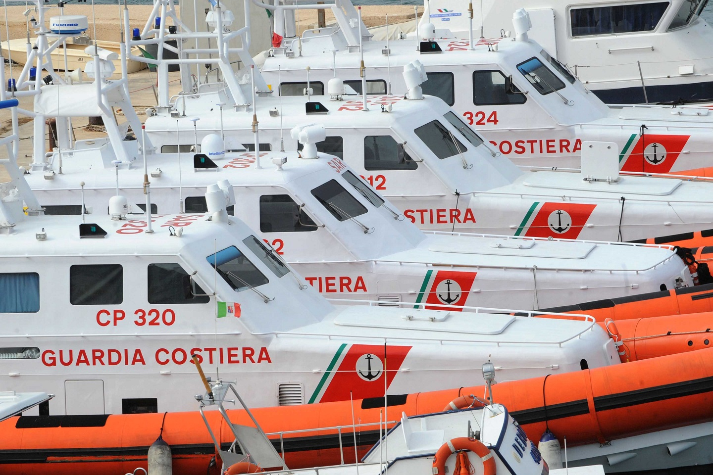 Coast Guard ships, Lampedusa