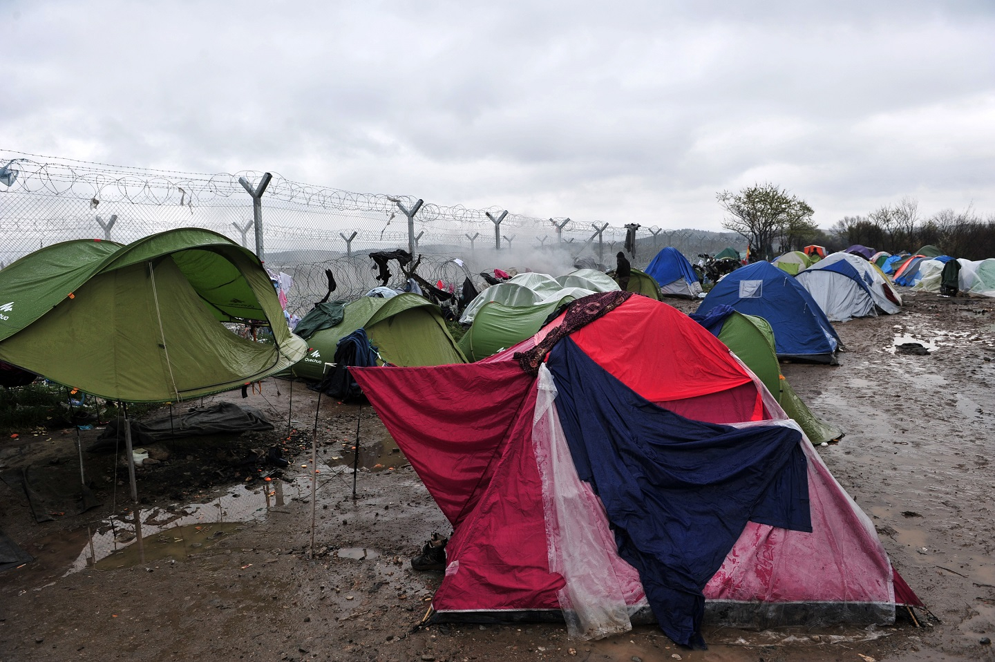 Refugee camp, Idomeni