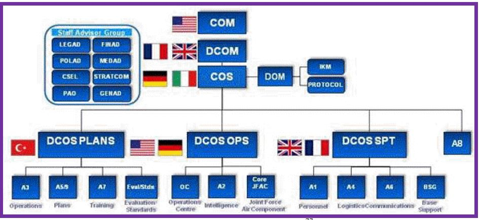 Organizational Structure of Allied Air Command