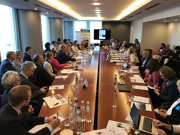 Brussels, 26th September 2018. EU-PolarNet held its second policy briefing in Brussels: At the frontline of climate change.