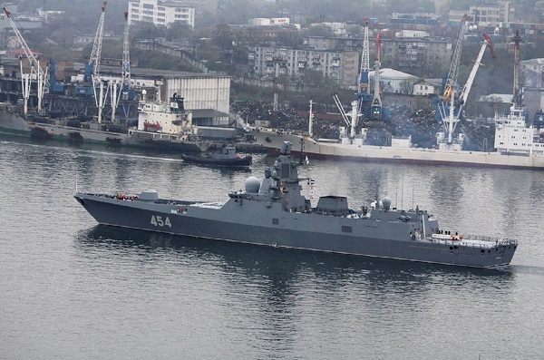 Northern Fleet detachment arrived in Vladivostok.