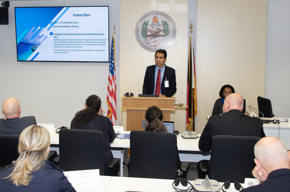 First collaborative global counterterrorism alumni workshop