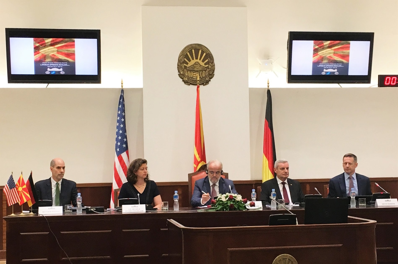 Marshall Center Hosts 'Next Steps to NATO' Seminar in North Macedonia