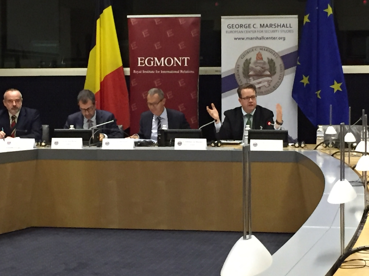 Marshall Center Hosts Strategic Workshop in Brussels