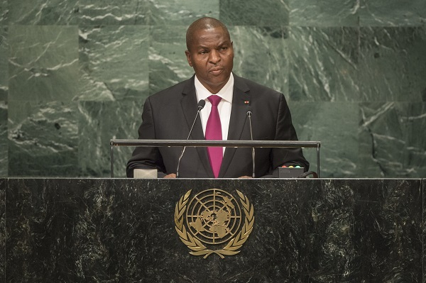 President of the Central African Republic, HE Professor Faustin-Archange TOUADERA, Head of State.