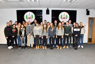 Neu-Ulm University of Applied Sciences Students Visit the Marshall Center