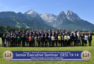 Marshall Center's Senior Executive Seminar Aims to Understand Chinese Engagement in Europe