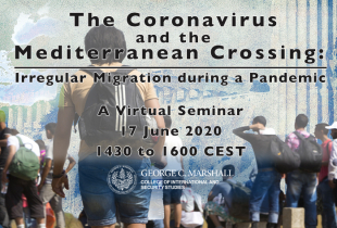 Marshall Center Hosts a Virtual Seminar with Alumni on COVID-19_Mediterranean Migration