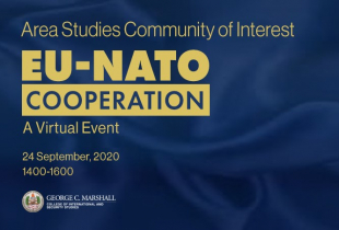 Marshall Center Hosts EU, NATO Cooperation Virtual Event