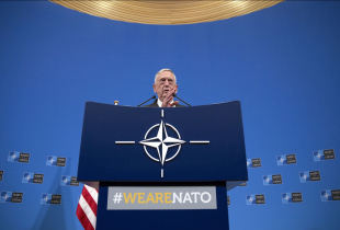 General Mattis speaking at NATO