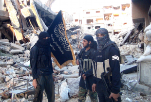 Fighters from the al-Qaida group in the Levant