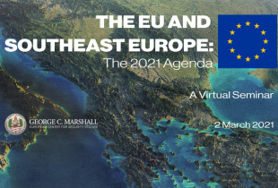 Marshall Center Hosts EU and Southeast Europe Virtual Seminar