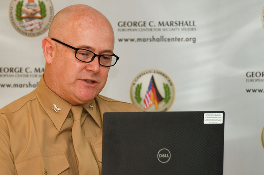 Marshall Center Concludes First Virtual Program on Terrorism and Security Studies